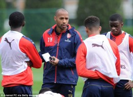 thierry henry arsenal manager